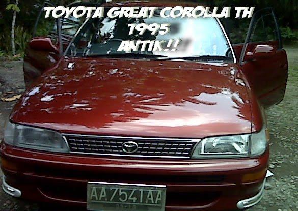 Toyota Corolla Bekas Tahun 1995 Medan Mobil Dijual Di ...